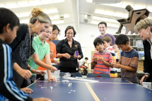 Lower School Library Launches Hands-On 'Maker Space' After-School Activity