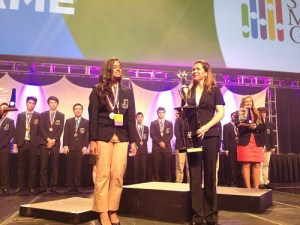 Student Takes First Place Nationally in InvestWrite Competition
