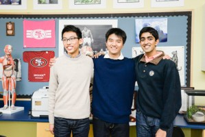 Three Harker Students Named Finalists in Intel STS, Most in the Country