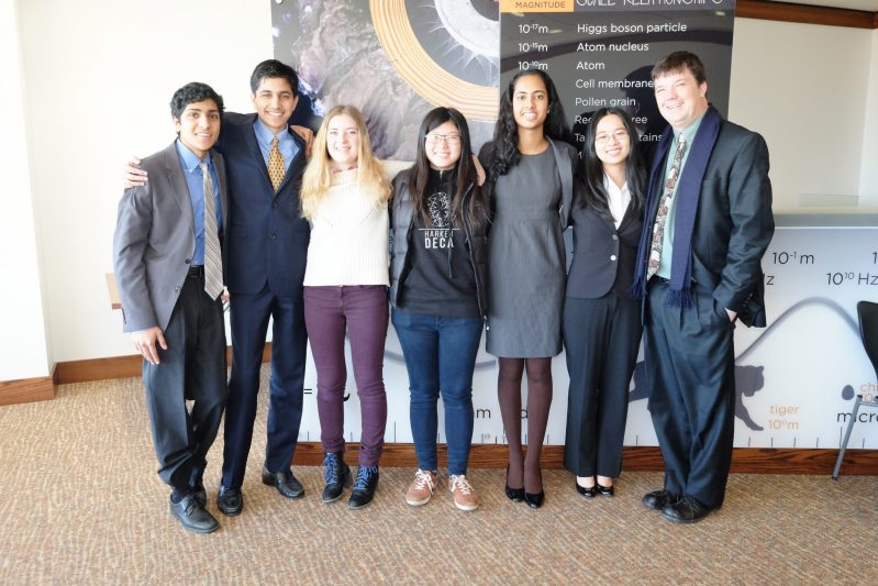 Harker Team Takes Top Spot at Young Physics Tournament