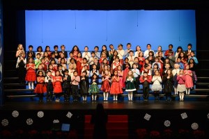 Annual Grade 1 Show Celebrated the Spirit of the Holidays