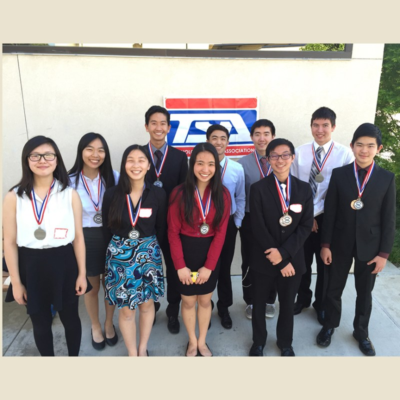 Tech Student Association Brings Home Five First Place Medals