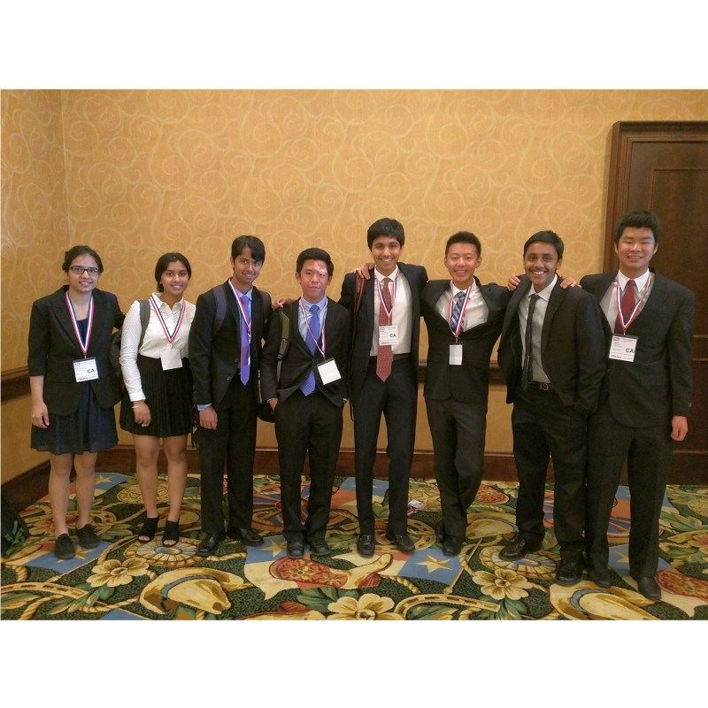 Students Take Second Place at National TEAMS Competition