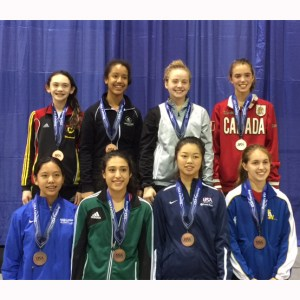 """Kudos: Sophomore Liao Navigates Tough National Fencing Event to Take Fifth and Earn """"A"""" Rating"""
