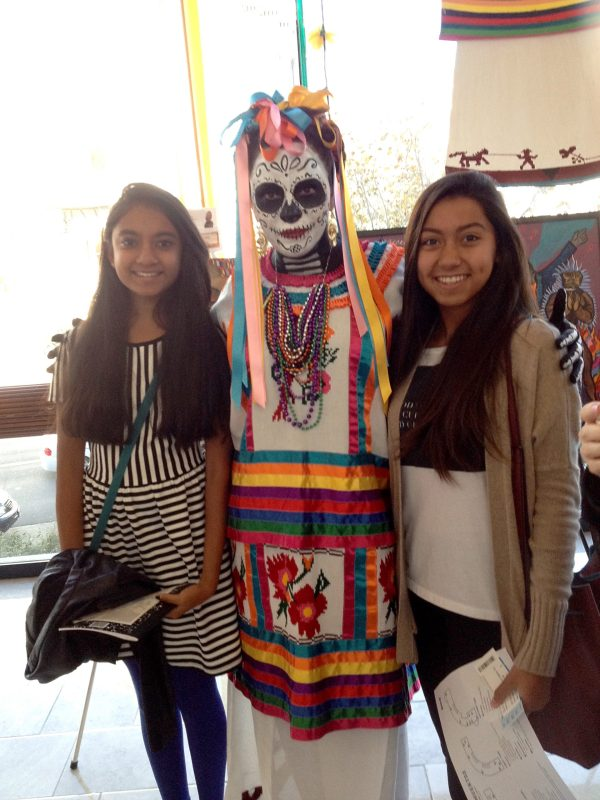 Classes Combine for Visit to SF Symphony for Día de los Muertos