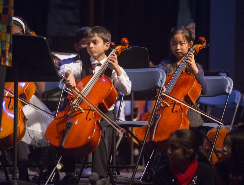 Winter Concert Brings Together Lower School Musicians