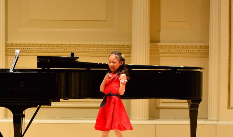 Kudos: MS Swimmer is Nationally Ranked, LS Singer Performs at Carnegie Hall