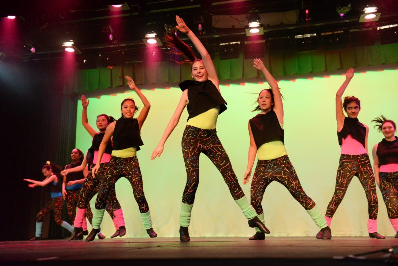 Upper School Dance Show Joyfully Reminisces About the 80s and 90s