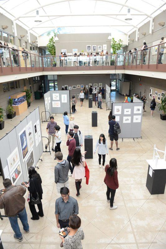 Student Art Featured at Annual AP Studio Art Exhibition