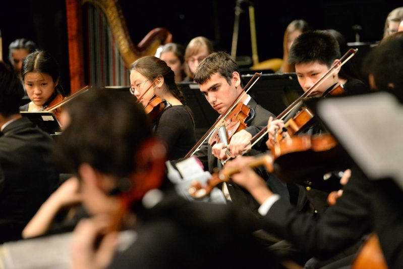 Spring Concert Features Middle and Upper School Musicians