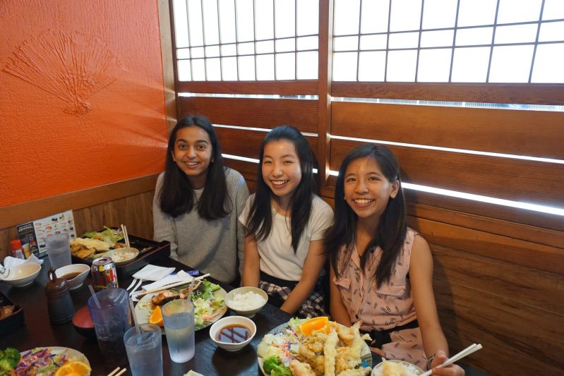 Middle School Advanced Japanese Students Enjoy Culinary Field Trip