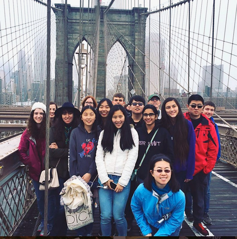 History Students Make Memorable Journey Through The Big Apple