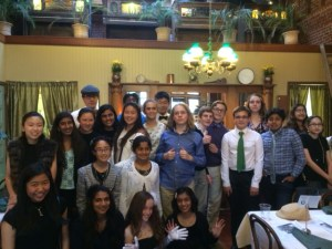Grade 8 Students Take Trip Back to the 1920s in End-of-Section Outing