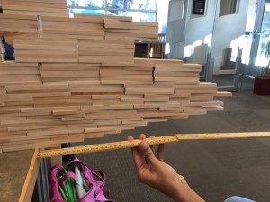 Keva Plank Challenges Offer Fun Way for Students to De-Stress