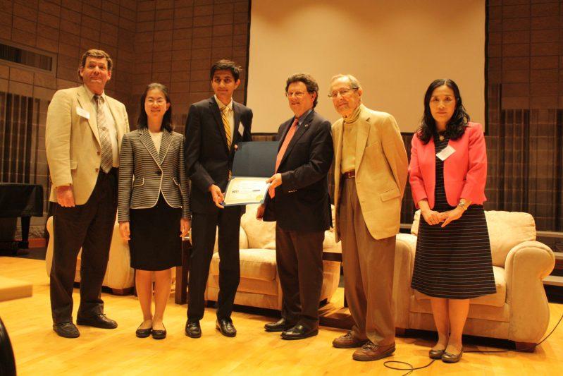 Harker Juniors Deliver Presentation at Nuclear Nonproliferation Conference, Impress Experts
