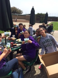 Middle School ACE Club Participates in Nationwide Effort to Help Feed the Hungry