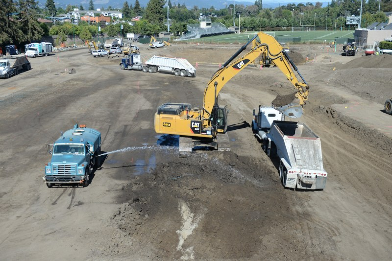 Athletic and Performing Arts Centers Construction Starts in Earnest