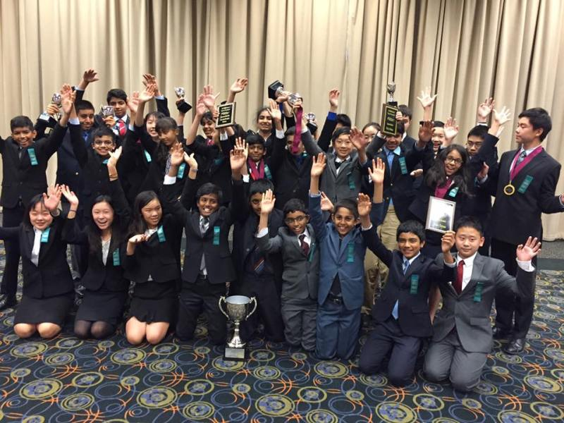 Upper and Middle School Speech and Debate Teams Shine in End-of-Season Events