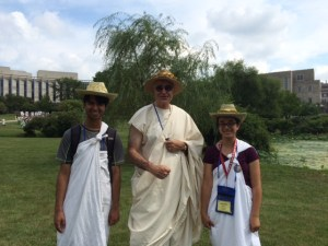Two Harker Students Represent California at National Classics Convention