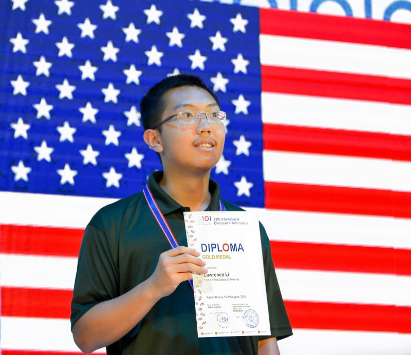 2016 Grad Wins Gold Medal at International Informatics Olympiad