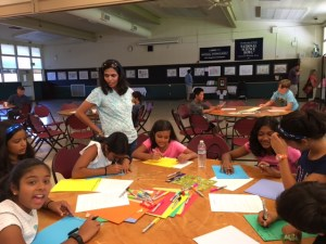 Sixth Graders Spend Saturday Afternoon Writing to Service Members for Operation Gratitude