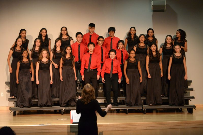 Upper school vocalists shine a 'Little Light' at fall concert