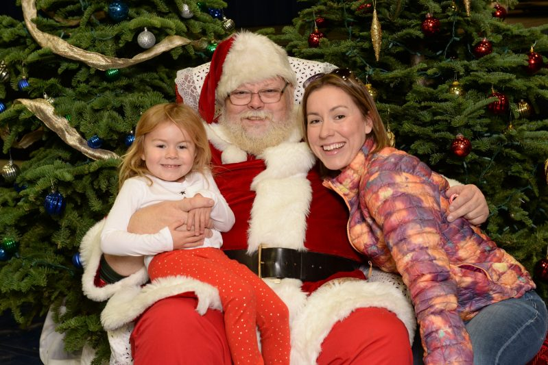 Alumni Winter Wonderland event dazzles little ones