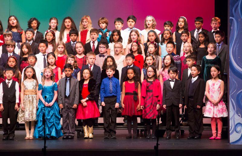 Grade 2-3 Holiday Show spreads seasonal joy just before holiday break