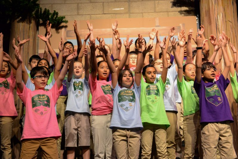 "Grade 5 students journey to ""Summer Camp"" in annual show"
