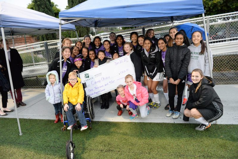 Soccer teams take to the field for Camp Okizu at annual Kicks Against Cancer game
