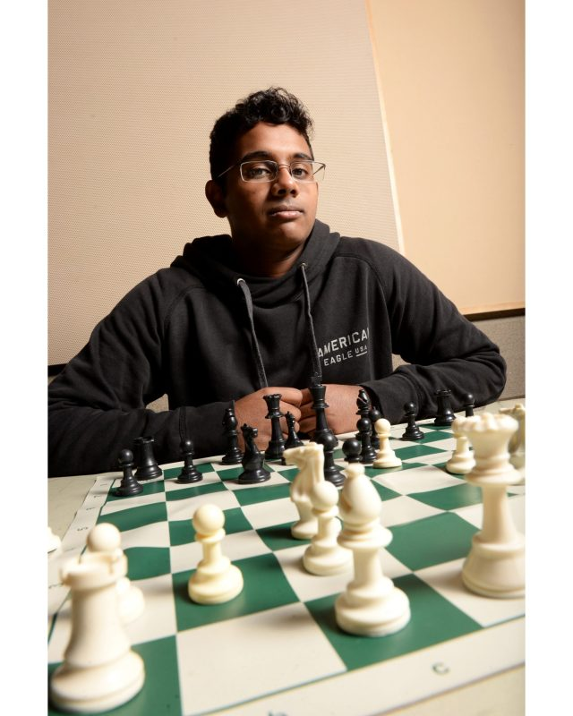 Kudos: Chess enthusiast named to 2017 All-America Team, recognized as International Master