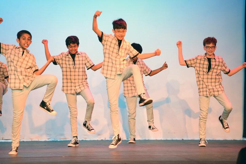 Energetic Dance Jamz show features 150 middle school dancers