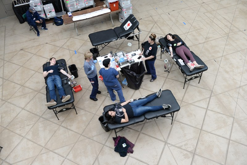 Upper school's Red Cross Club holds annual blood drive at Nichols Hall