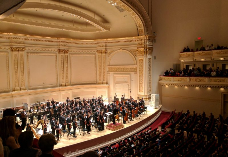 Orchestra travels to New York to perform at Carnegie Hall