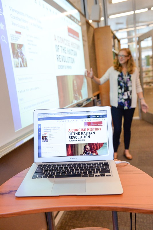 High-performing students merit top-notch library databases