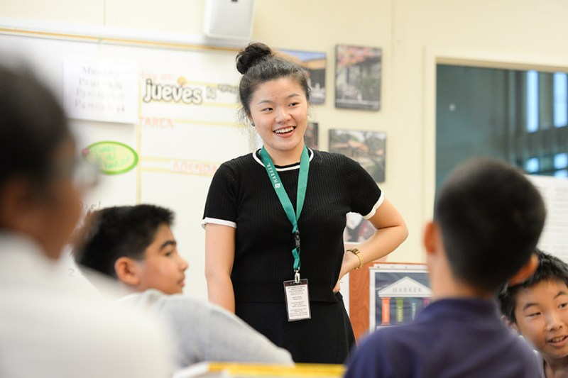 Visiting teacher from Shanghai spends two weeks at Harker observing, learning and teaching
