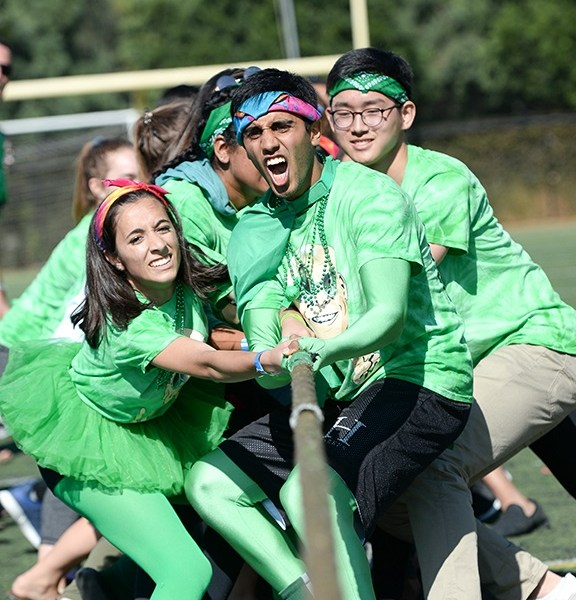 Homecoming rally features fun, excitement and friendly competition