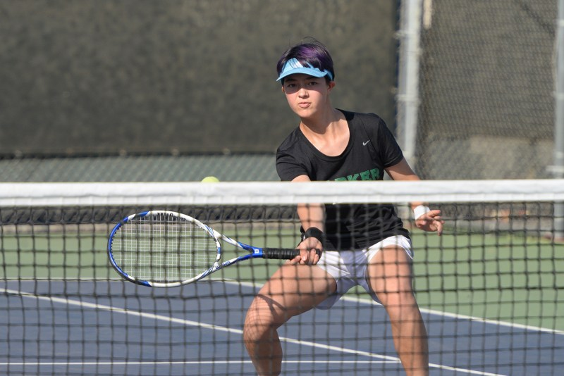 Big wins for girls tennis; many athletic events cancelled due to air quality