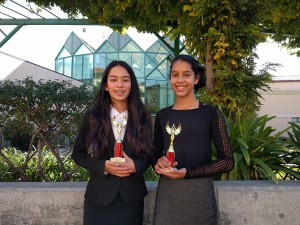 Middle school speech and debate team has busy, productive first semester
