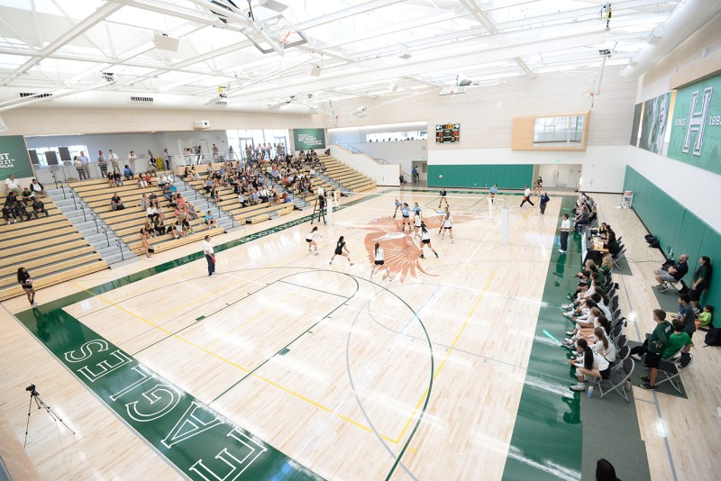 Harker athletic center awarded LEED Gold Certification