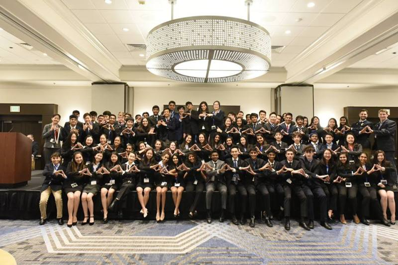 Harker DECA performs respectably at its first competitive conference of the year