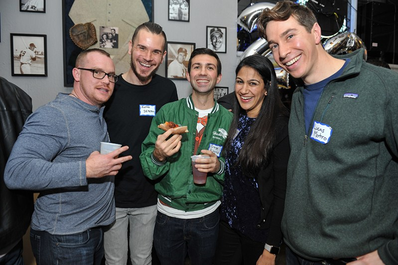 Two reunions,  '07 and '12,  bring alumni together over holiday break