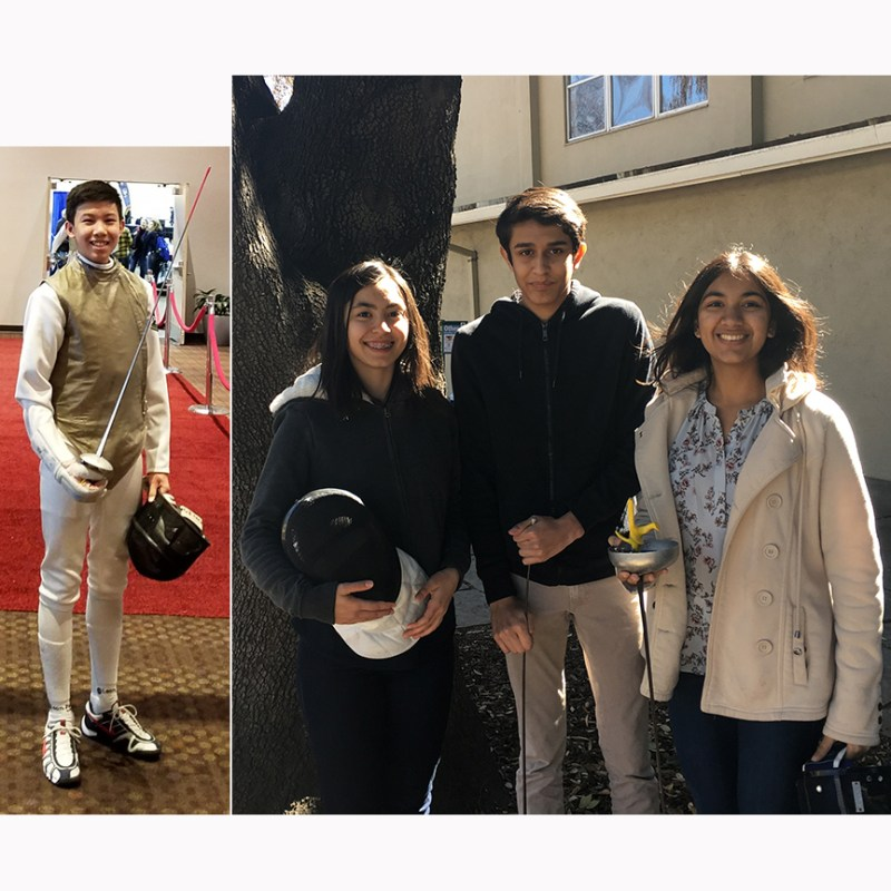 Kudos: Harker fencers travel to Memphis to compete in Junior Olympics