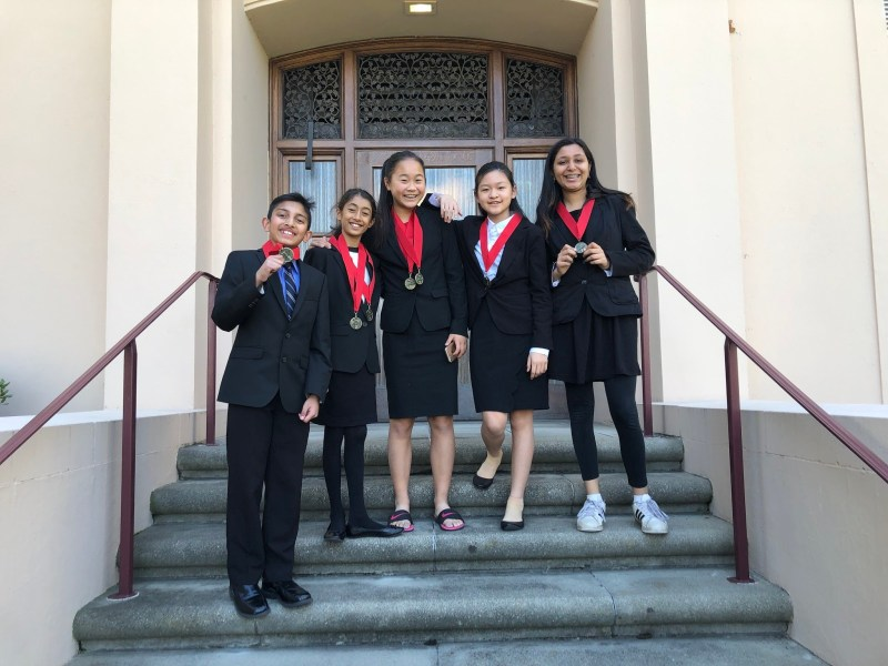 MS and US speech and debate team members rack up solid scores
