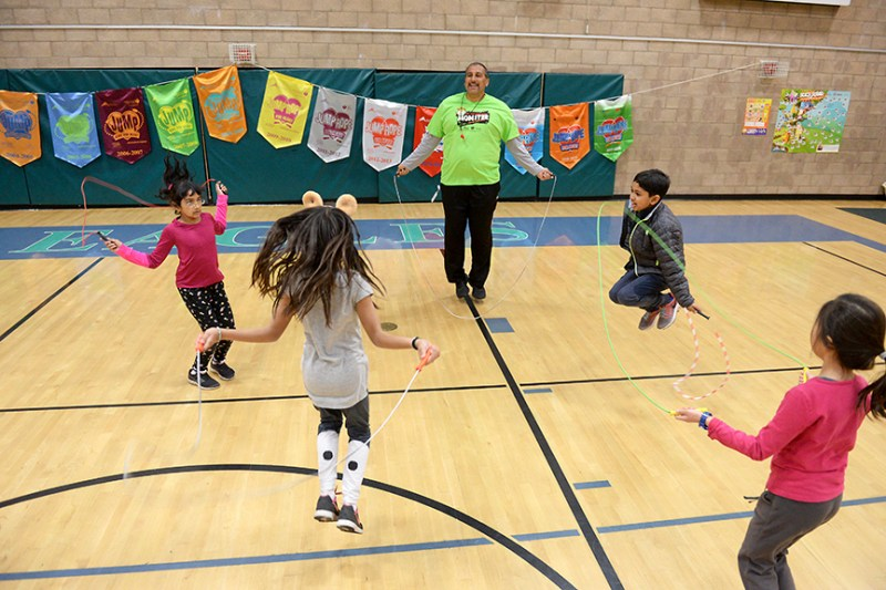 Jump Rope for Heart raises more than $17,000 for American Heart Association