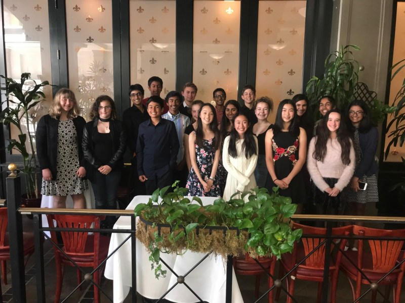 Students learn more about French food and culture on restaurant field trip