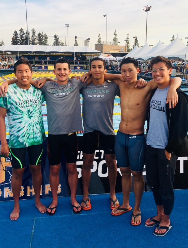 Swimmer wins state, a first for Harker; boys volleyball season continues in NorCals