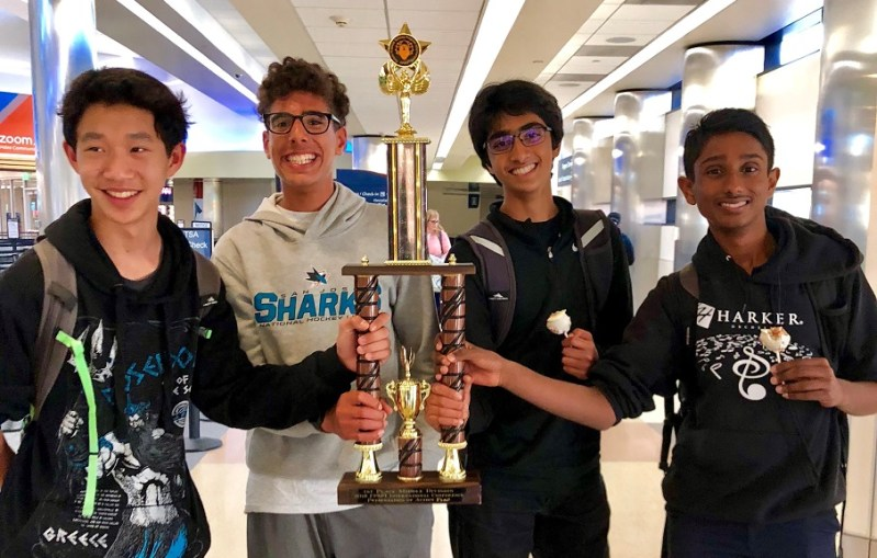 Middle school presentation takes first at Future Problem Solving Internationals