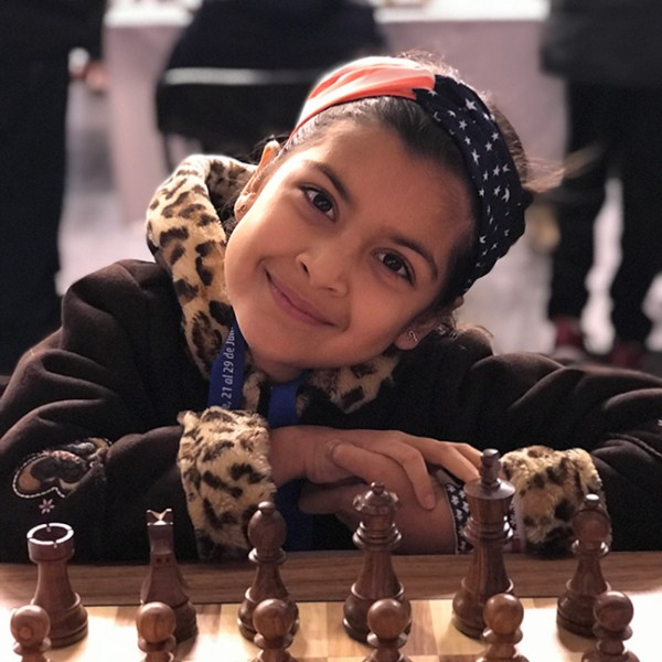 Harker siblings compete in Pan Am chess championships, one takes gold, the other fifth