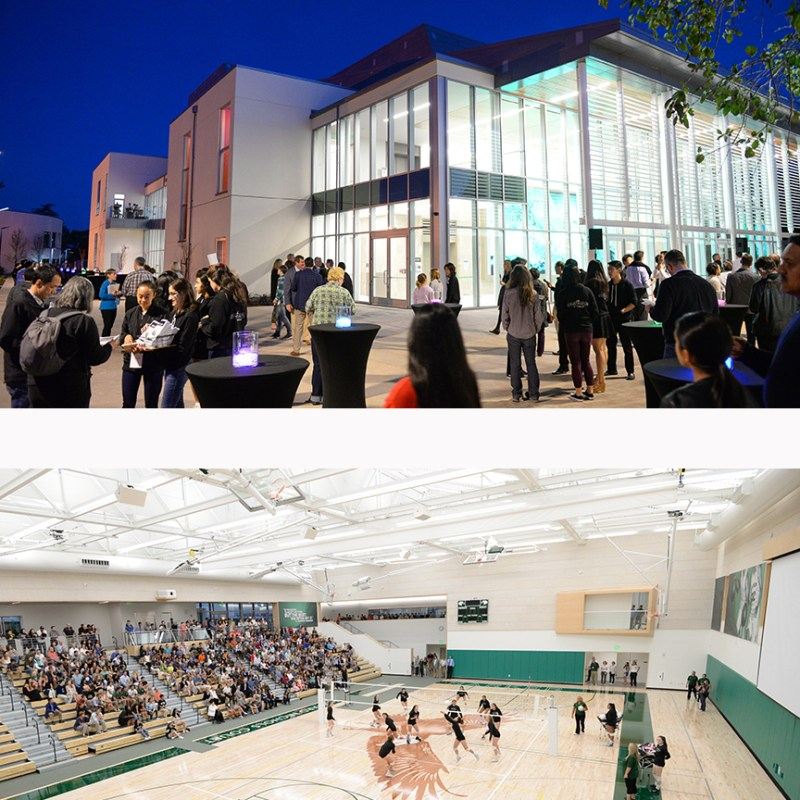 Athletic center and Rothschild Performing Arts Center earn SVBJ Structure Awards